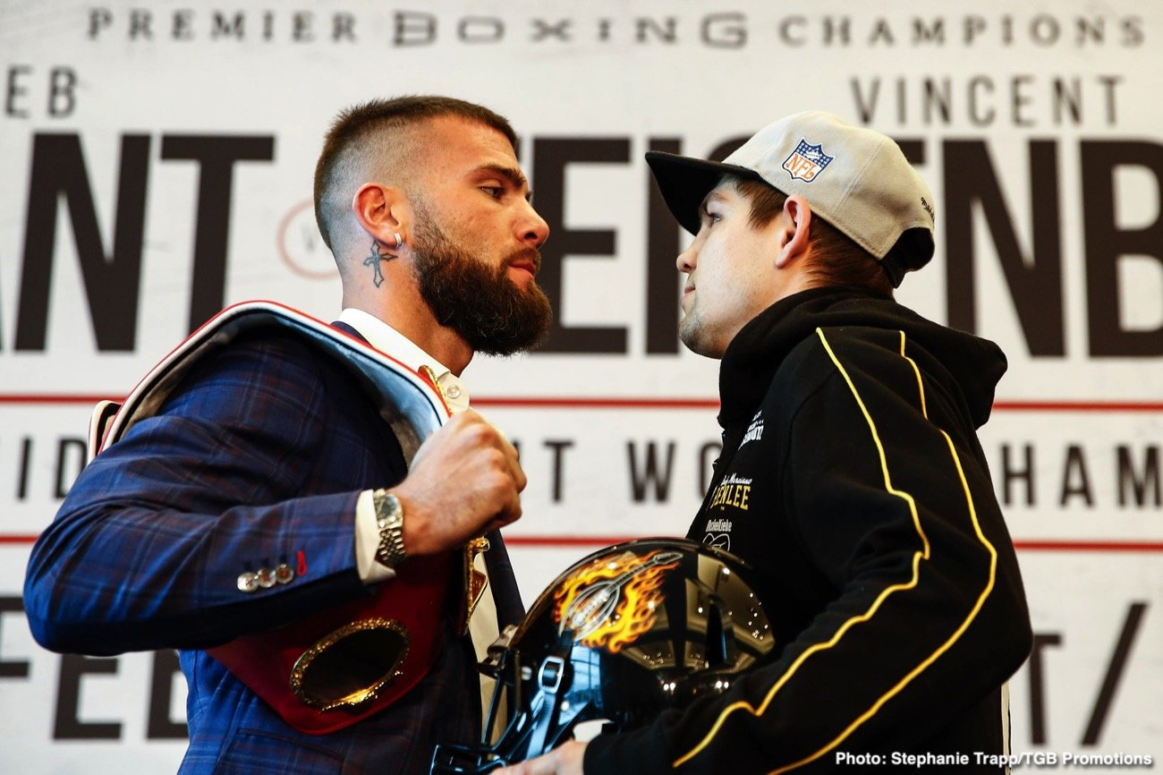 boxing-LR_TGB-PBC-PRESSER-PLANT-VS-FEIGENBUTZ-TRAPPFOTOS-FEB132020-8704 Feigenbutz And Plant Come Face To Face For The First Time Ahead Of Clash