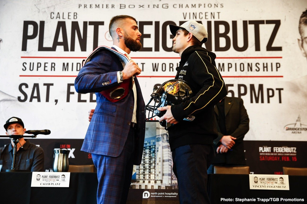 boxing-LR_TGB-PBC-PRESSER-PLANT-VS-FEIGENBUTZ-TRAPPFOTOS-FEB132020-8715 Feigenbutz And Plant Come Face To Face For The First Time Ahead Of Clash